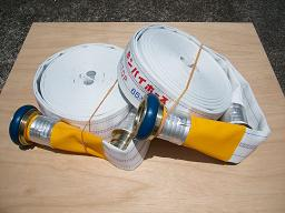 動力消防ポンプ用消防ホース(国家検定品)