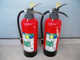 ABC粉末20型消火器(薬剤詰替後)