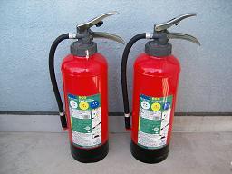 ABC粉末20型消火器(薬剤詰替前)