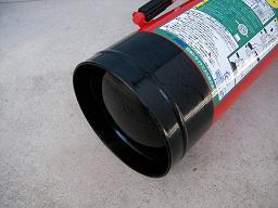 耐食強化ABC粉末消火器(本体下部)