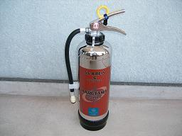 腐食(サビ)に強いステンレス製消火器